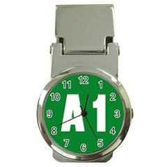 Autostrada A1 Money Clip Watches
