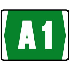 Autostrada A1 Fleece Blanket (Large)