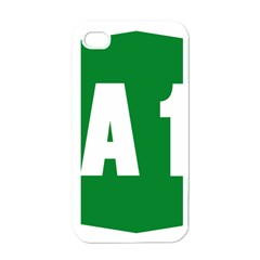 Autostrada A1 Apple iPhone 4 Case (White)