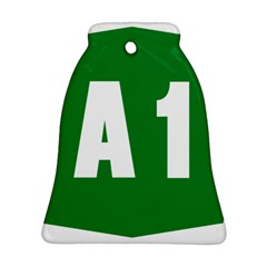 Autostrada A1 Bell Ornament (Two Sides)