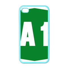 Autostrada A1 Apple iPhone 4 Case (Color)
