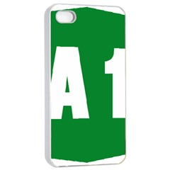 Autostrada A1 Apple iPhone 4/4s Seamless Case (White)