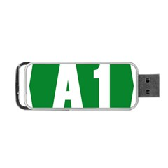 Autostrada A1 Portable USB Flash (Two Sides)