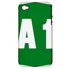 Autostrada A1 Apple iPhone 4/4S Hardshell Case (PC+Silicone)