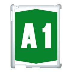 Autostrada A1 Apple iPad 3/4 Case (White)