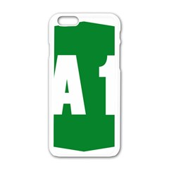 Autostrada A1 Apple iPhone 6/6S White Enamel Case