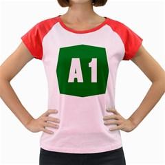 Autostrada A1 Women s Cap Sleeve T-Shirt