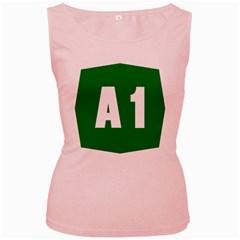 Autostrada A1 Women s Pink Tank Top