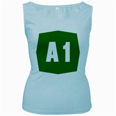 Autostrada A1 Women s Baby Blue Tank Top