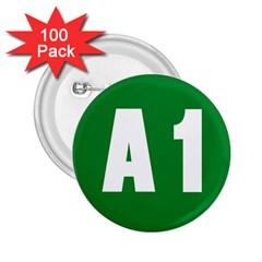Autostrada A1 2.25  Buttons (100 pack)