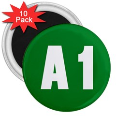Autostrada A1 3  Magnets (10 pack)