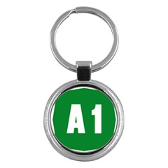 Autostrada A1 Key Chains (Round)