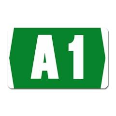 Autostrada A1 Magnet (Rectangular)