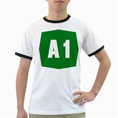 Autostrada A1 Ringer T-Shirts