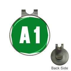 Autostrada A1 Hat Clips With Golf Markers