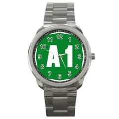 Autostrada A1 Sport Metal Watch
