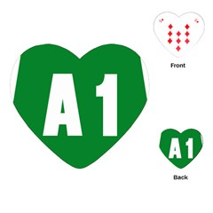 Autostrada A1 Playing Cards (Heart)