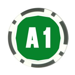 Autostrada A1 Poker Chip Card Guard