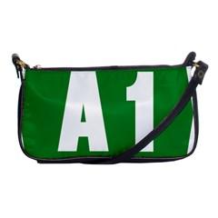 Autostrada A1 Shoulder Clutch Bags