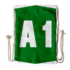 Autostrada A1 Drawstring Bag (Large)