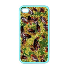 Cockroaches Apple iPhone 4 Case (Color)