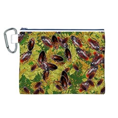 Cockroaches Canvas Cosmetic Bag (L)