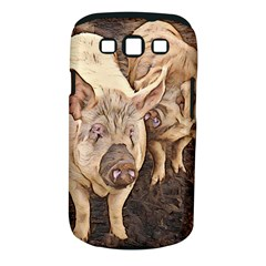 Happy Pigs Samsung Galaxy S Iii Classic Hardshell Case (pc+silicone)