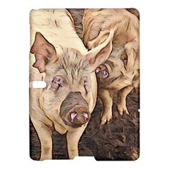 Happy Pigs Samsung Galaxy Tab S (10.5 ) Hardshell Case