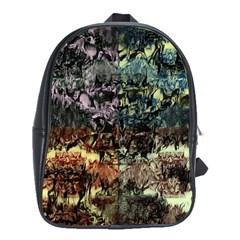 Coraux myst¨ rieux 2.0 School Bag (Large)