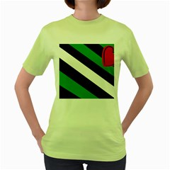 Boi Women s Green T-Shirt