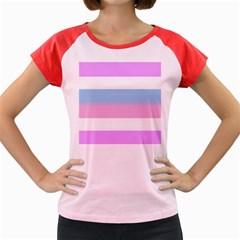 Bigender Women s Cap Sleeve T-Shirt