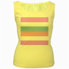 Bigender Women s Yellow Tank Top