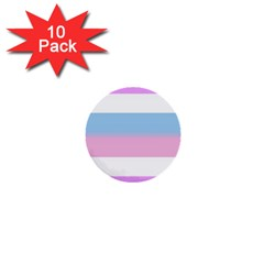 Bigender 1  Mini Buttons (10 pack)