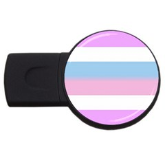 Bigender USB Flash Drive Round (2 GB)