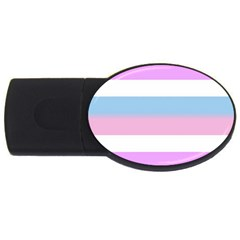 Bigender USB Flash Drive Oval (1 GB)