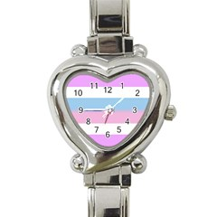 Bigender Heart Italian Charm Watch