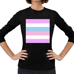 Bigender Women s Long Sleeve Dark T-Shirts