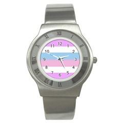 Bigender Stainless Steel Watch
