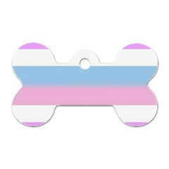 Bigender Dog Tag Bone (One Side)