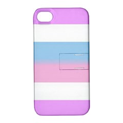 Bigender Apple iPhone 4/4S Hardshell Case with Stand