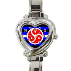 Bdsm Rights Heart Italian Charm Watch