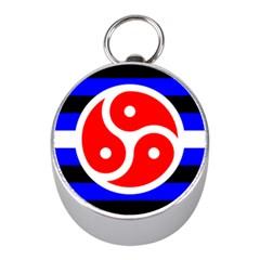 Bdsm Rights Mini Silver Compasses