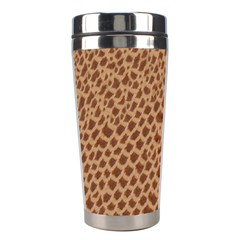 Giraffe Pattern Animal Print Stainless Steel Travel Tumblers