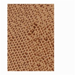 Giraffe pattern animal print  Small Garden Flag (Two Sides)