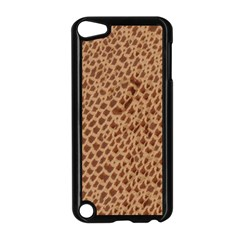 Giraffe pattern animal print  Apple iPod Touch 5 Case (Black)