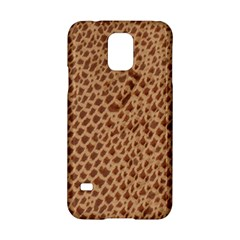 Giraffe Pattern Animal Print  Samsung Galaxy S5 Hardshell Case