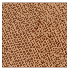 Giraffe Pattern Animal Print  Large Satin Scarf (square)