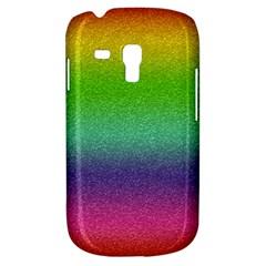 Metallic Rainbow Glitter Texture Galaxy S3 Mini