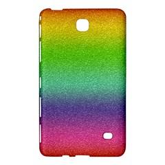 Metallic Rainbow Glitter Texture Samsung Galaxy Tab 4 (8 ) Hardshell Case