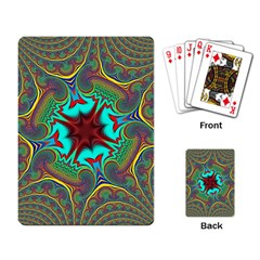 Hot Hot Summer A Playing Card